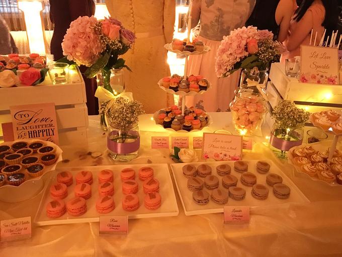 Pink Gold Purple Floral Elegant Dessert Table :) by Conrad Centennial Singapore - 003