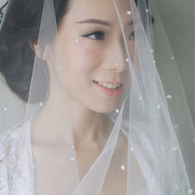 Budi & Agustine Holy Matrimony by Elsie Chrysila Brides - 007