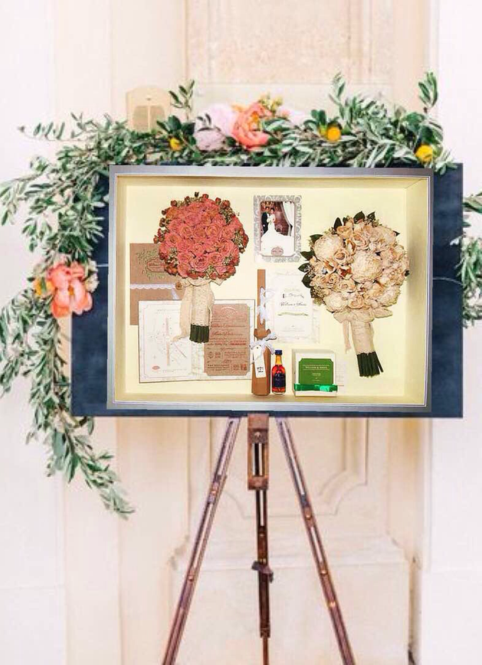 add to board large preserved shadow box by fiore dried flowers 001