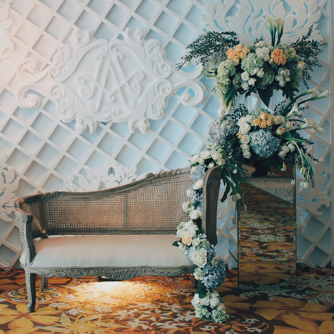 Wedding decoration and detail by Hotel Borobudur Jakarta - 001