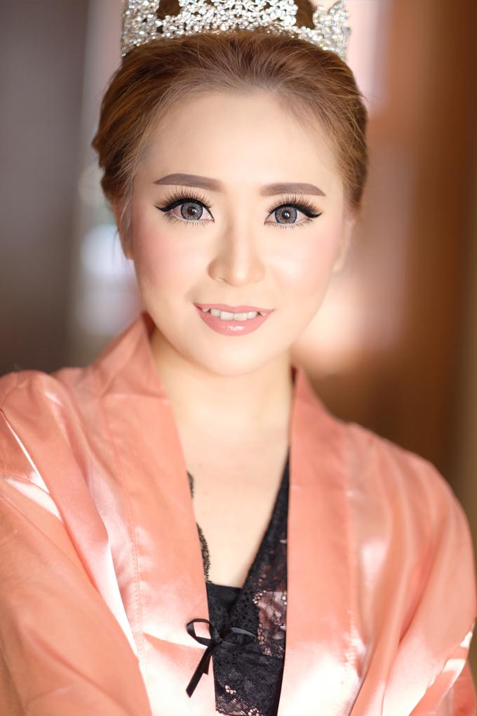 Thanx For Mrs. Sheren Tan by Natalia Ingkiriwang Bride Make Up - 001
