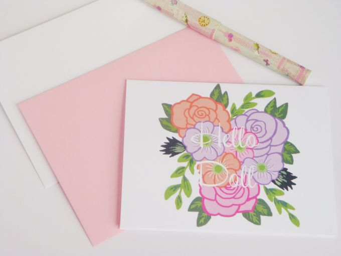 wedding note cards by Fancy Paperie - 001