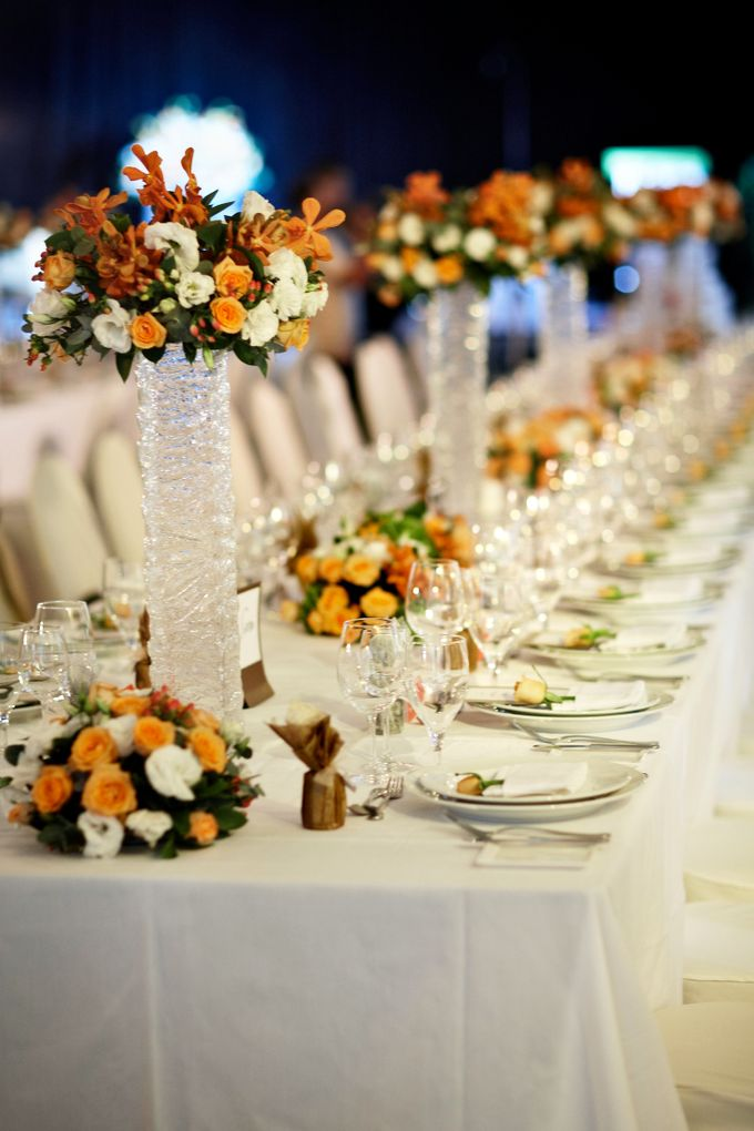 Decoration - Long tables set-up by Spellbound Weddings - 006