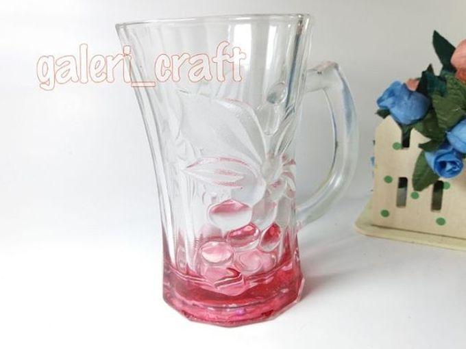 add to board gelas motif cantik by galeri craft 001