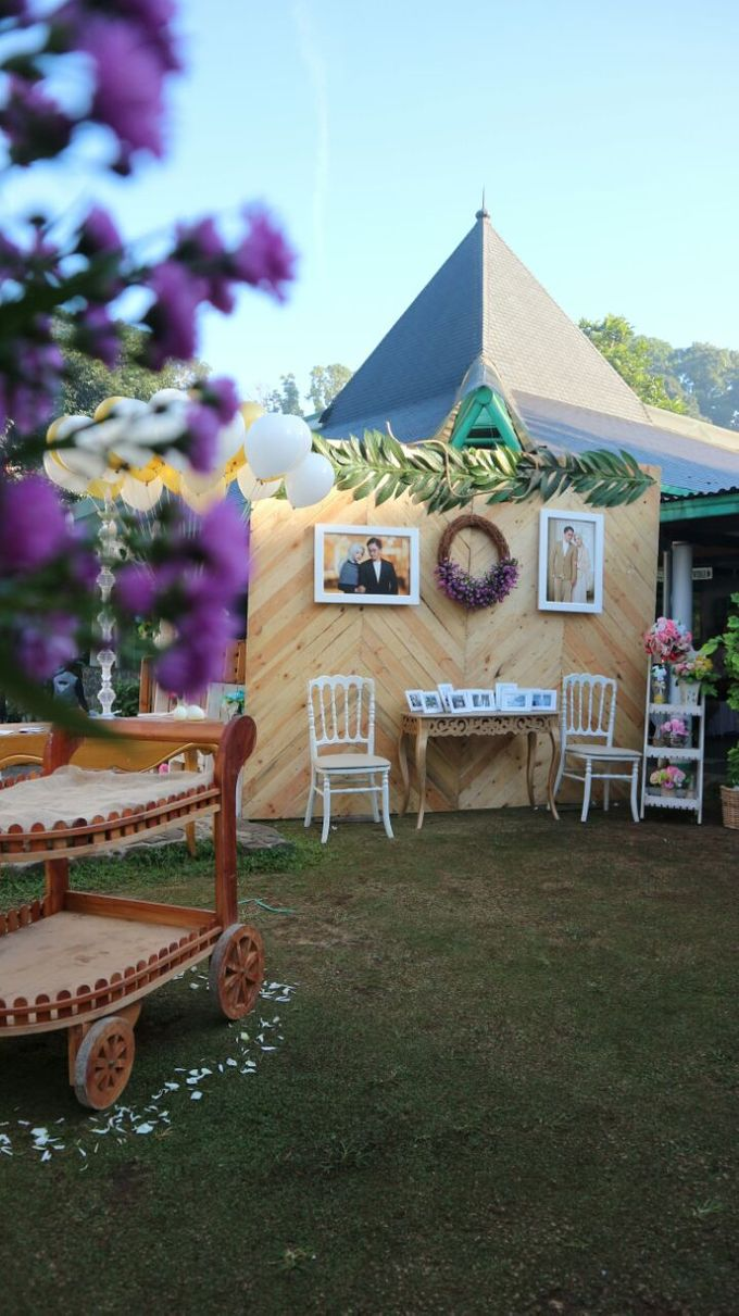 the wedding of intan u0026belly on nurul jamil by alinea catering