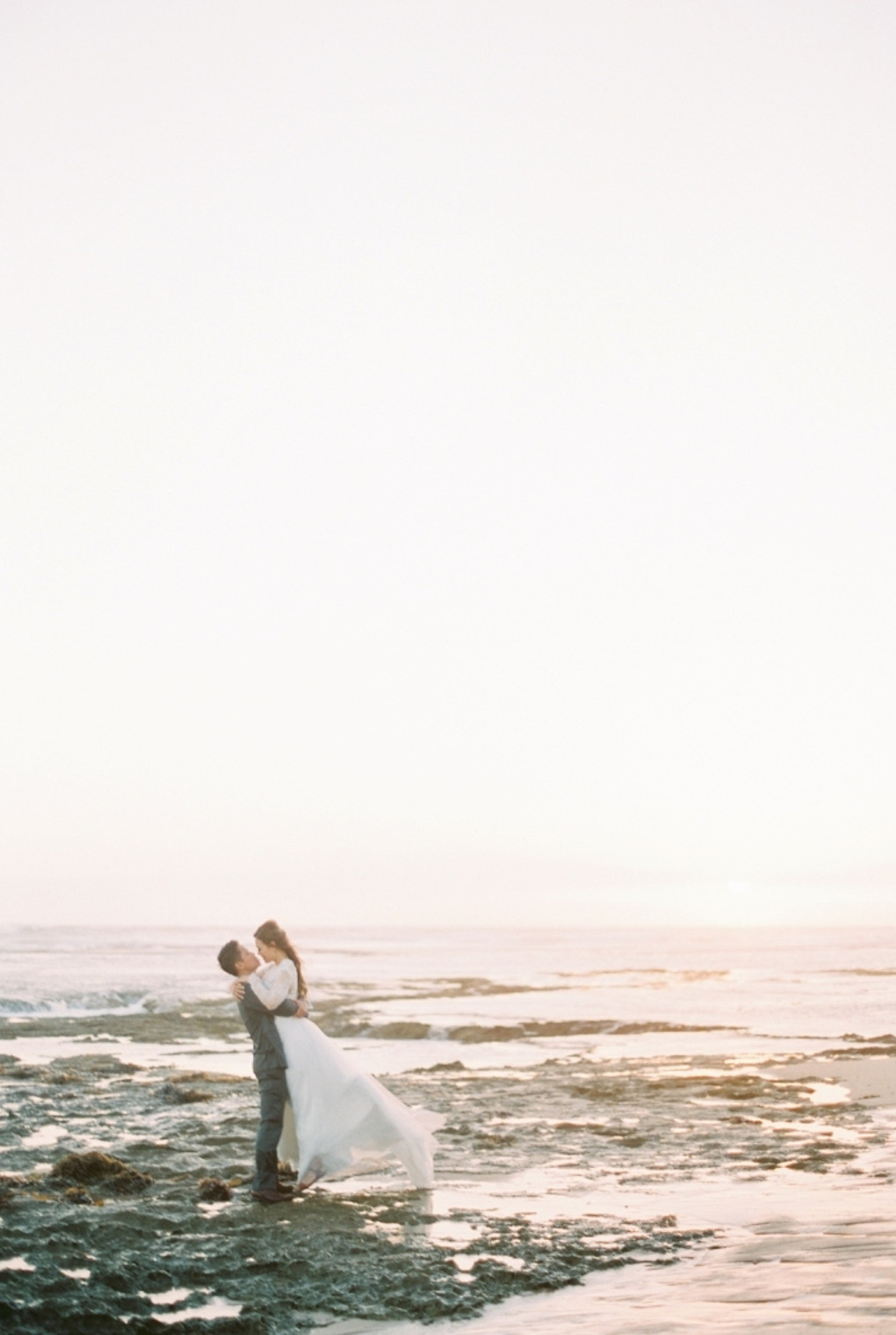 An Ethereal Coastal Engagement Session in Melbourne