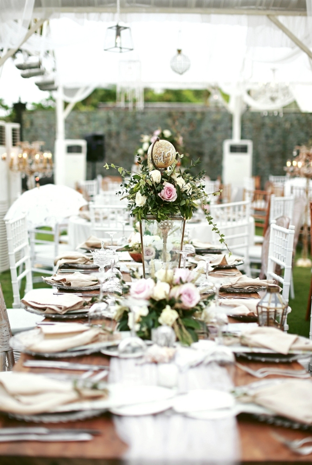 A Travel Themed Wedding In Bali With Rustic Elegant Decor
