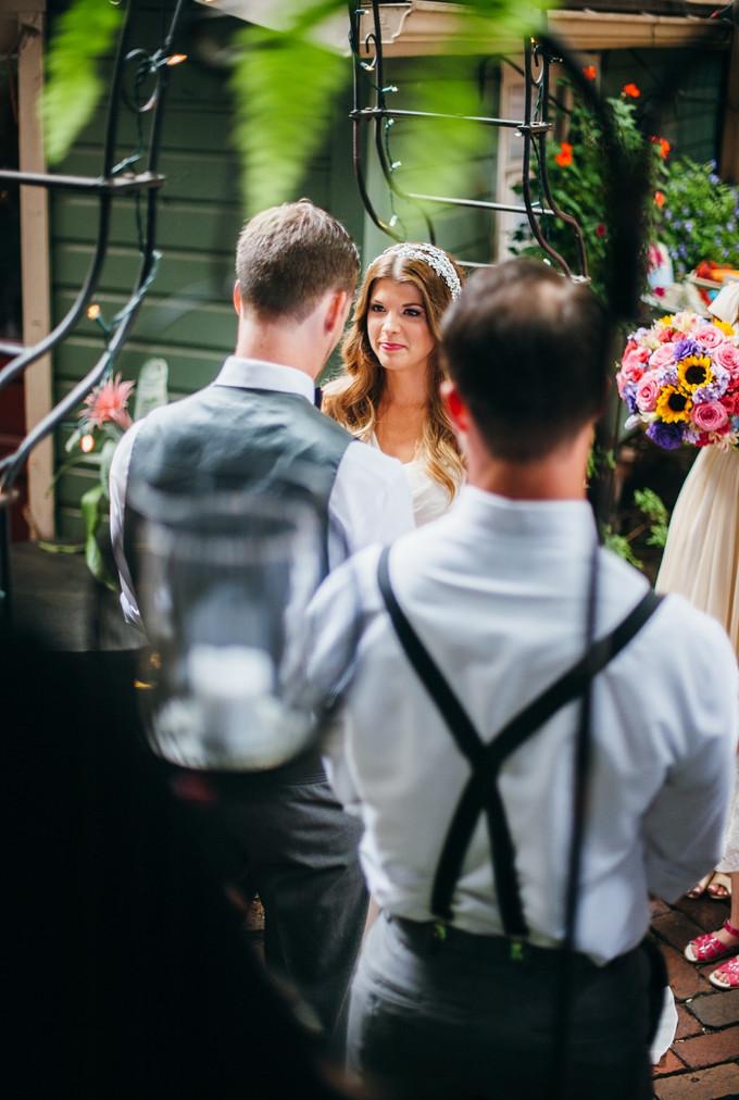 An Intimate Garden Wedding In Morning Glory Inn