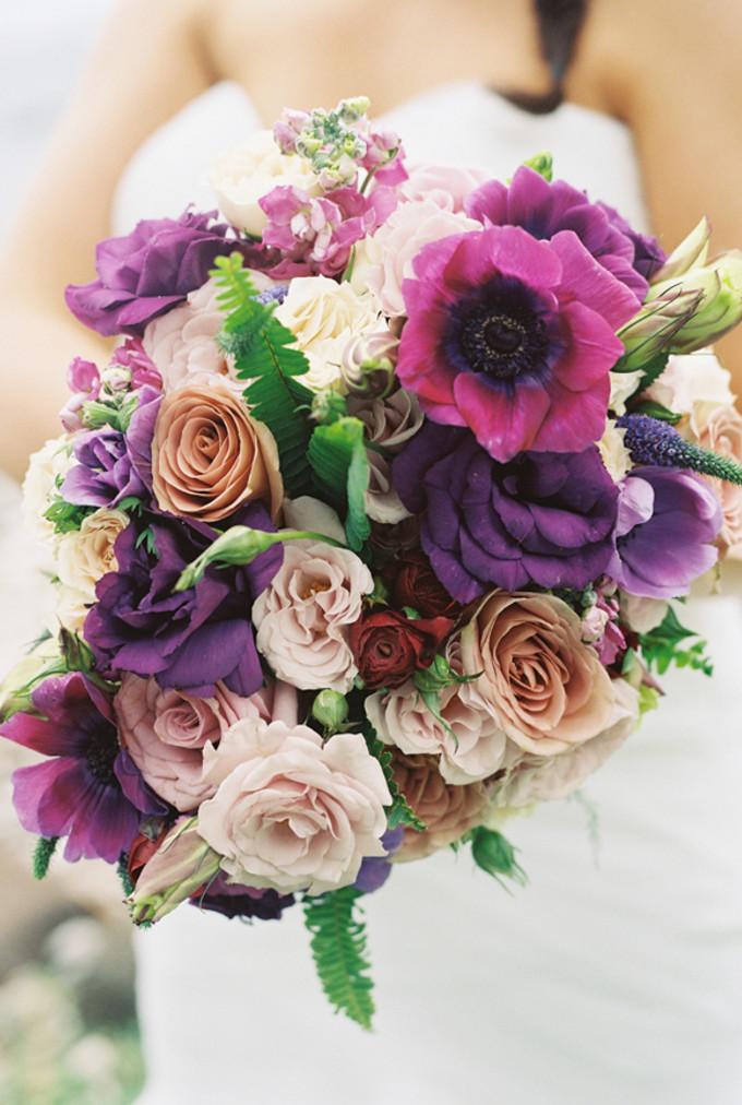 Purple Beach Wedding in Olowalu, Maui - Bridestory Blog