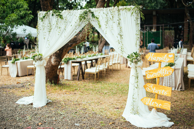 A Rustic Garden Wedding in Antipolo Philippines Bridestory Blog