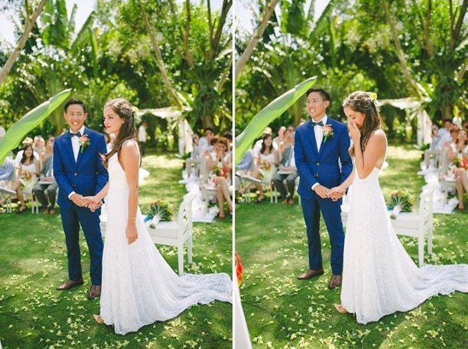 Garden Meets Beach In An Intimate Wedding At Bohol The