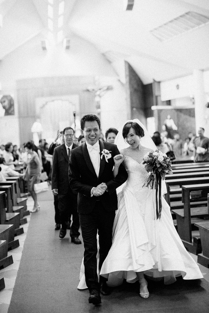 Black And White Stripe Themed Wedding In Jw Mariott Bridestory Blog