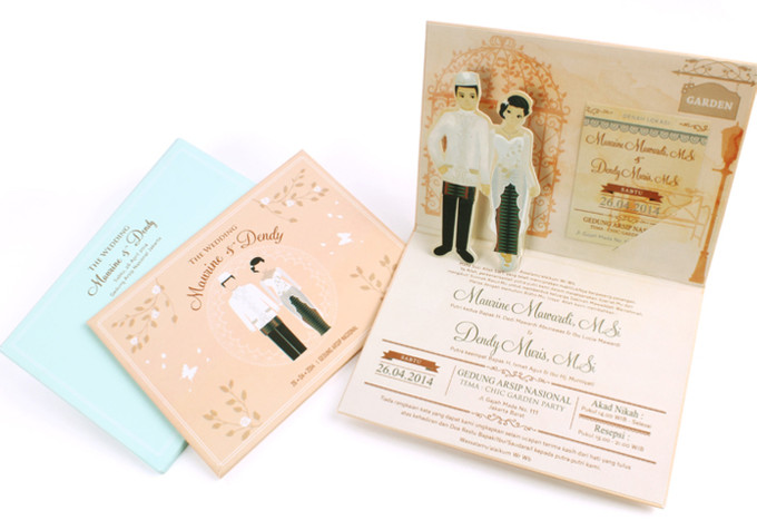 ... Pop Up Wedding Invitations For Your Super Fun Wedding   002