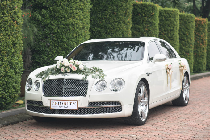 Image result for car on wedding day
