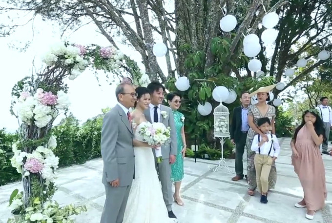 Vid of the week: Jonathan and Rebecca\'s garden wedding in Penang ...