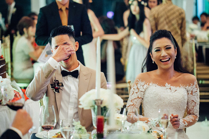 Gleaming Outdoor Wedding In Bandung Bridestory Blog