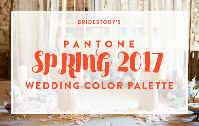 add to board plan your wedding palette with pantones spring 2017 colors 001