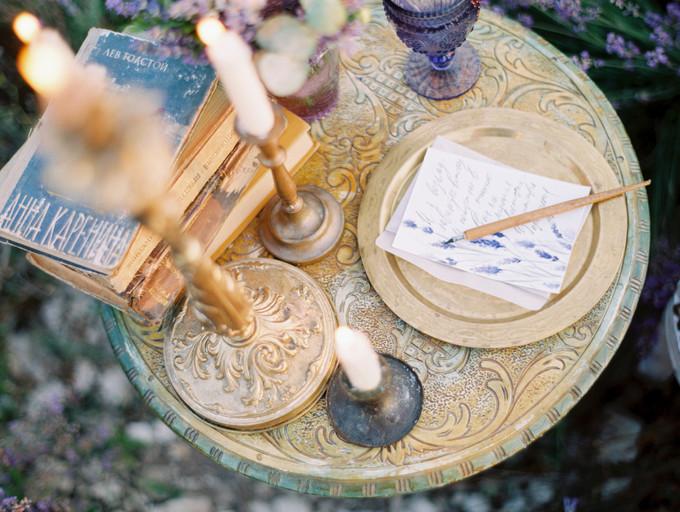 Inspirasi Pemotretan Memesona Di Kebun Lavender - 006
