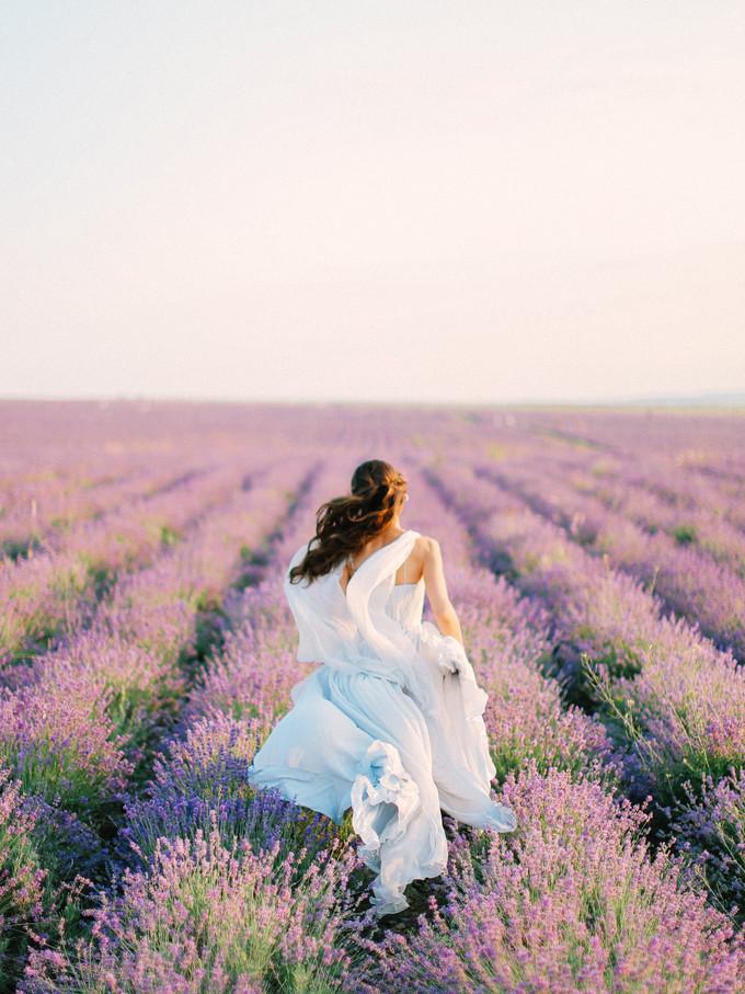 Inspirasi Pemotretan Memesona Di Kebun Lavender - 005