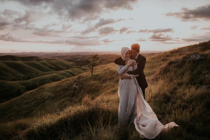 Photography An Atmospheric Pre Wedding Photo Session In Sumba