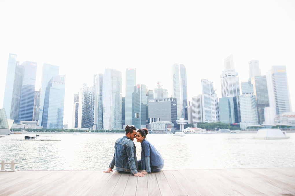 A Casual Contemporary Pre-Wedding Shoot In Singapore - 003