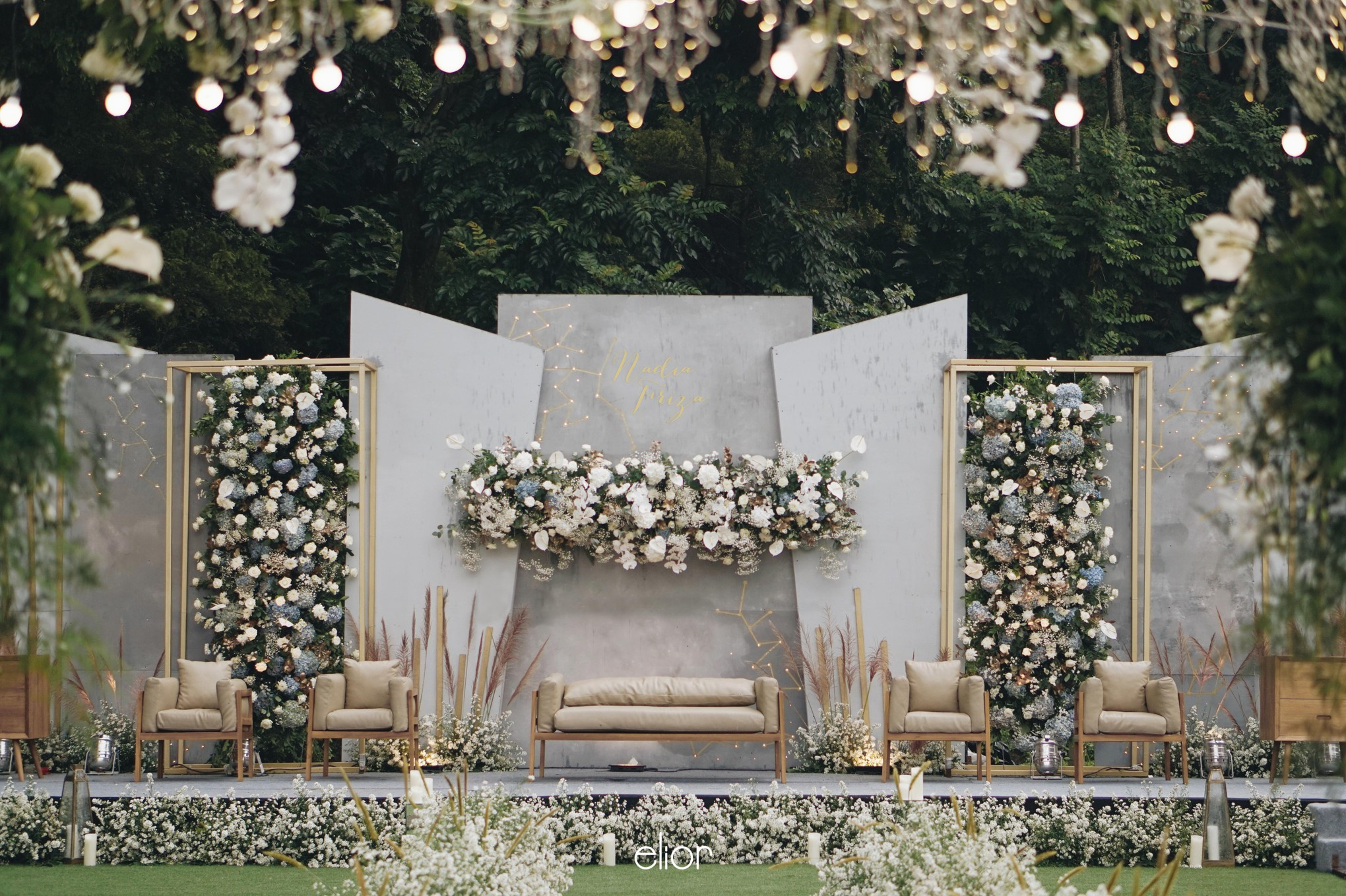 17 Modern Wedding Stage Design and Decor Inspirations You'll Love ...