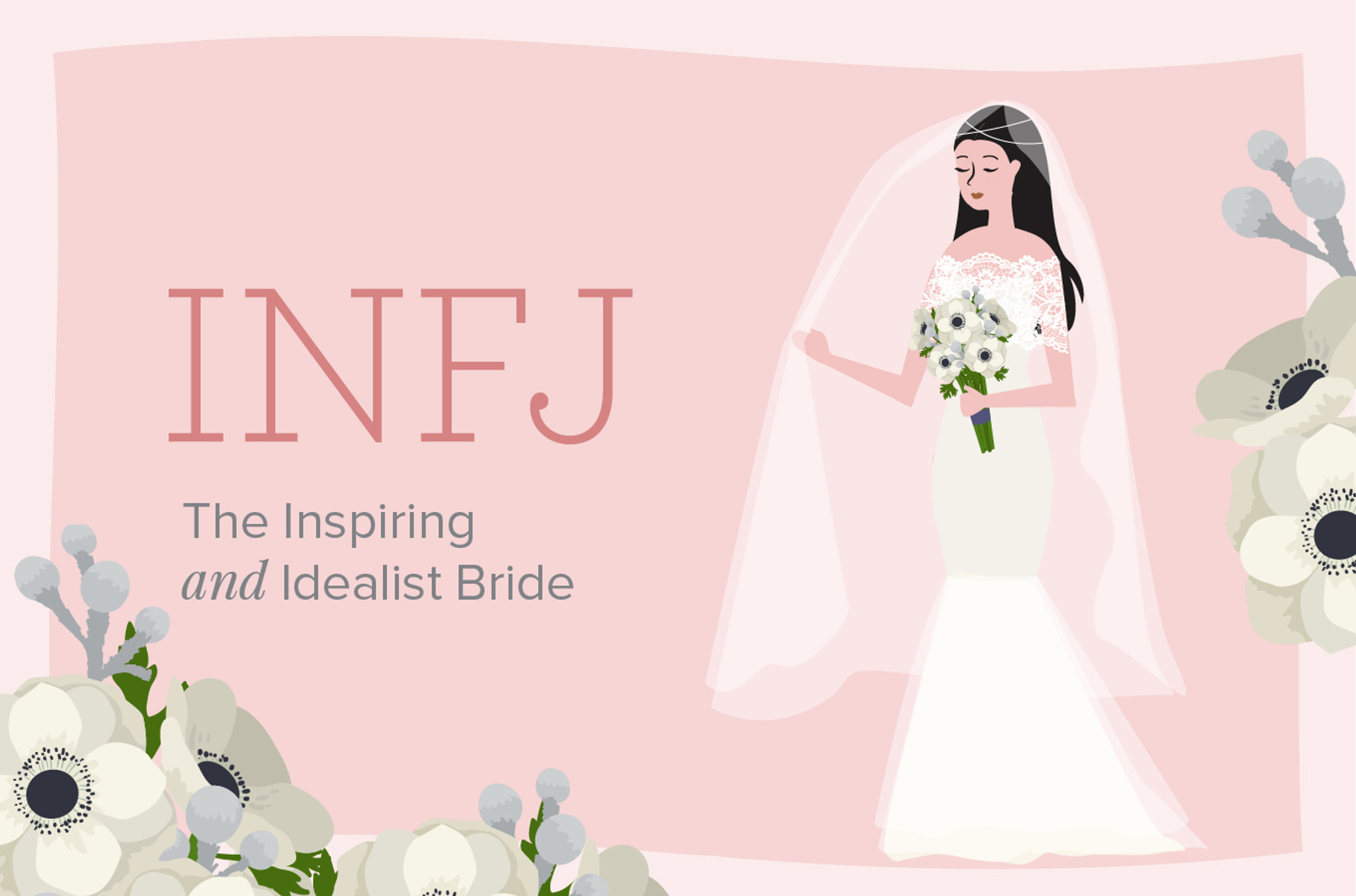 What Kind of Bride Are You Based on Your Myers-Briggs
