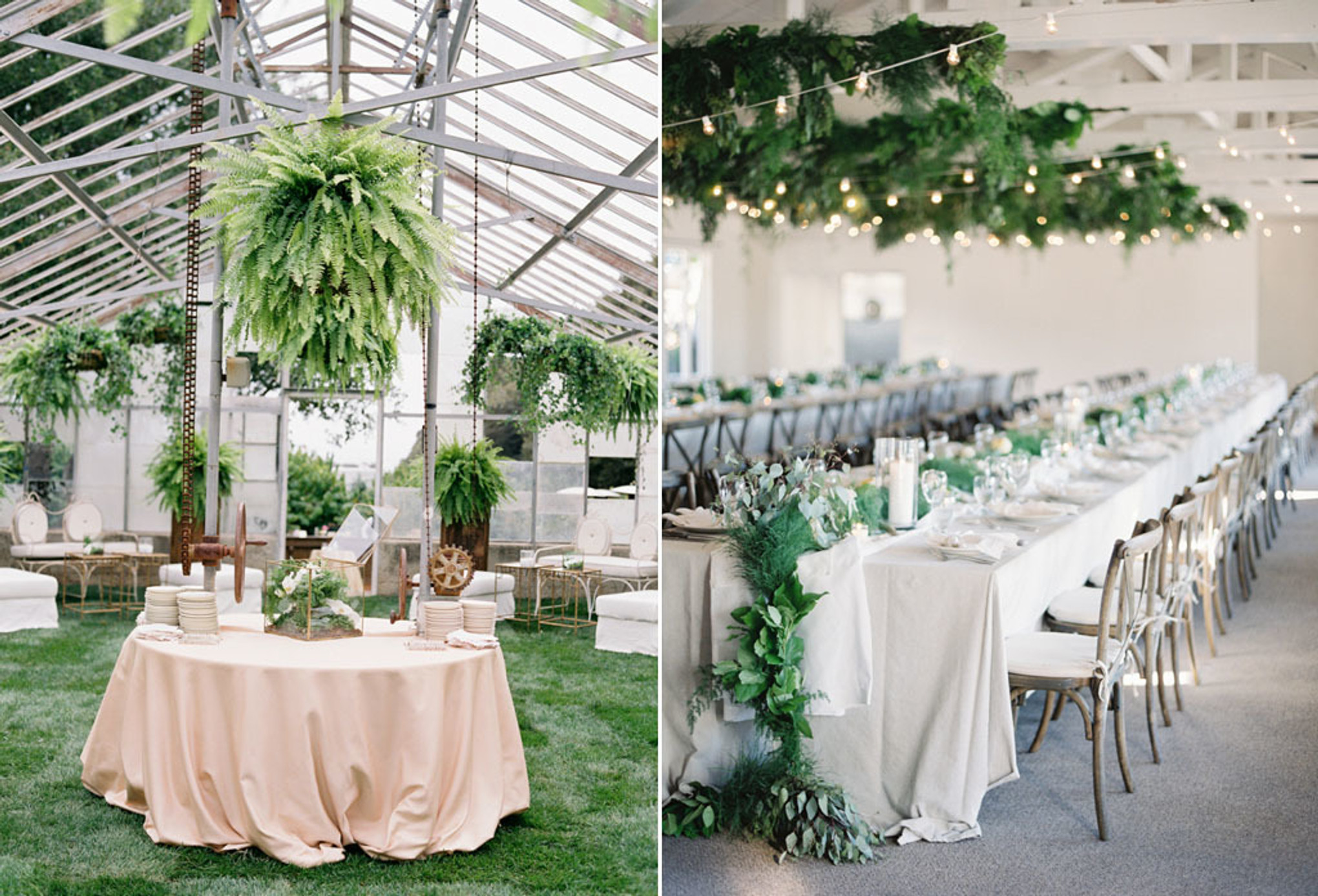 Creative Decoration Ideas For Your Green Botanical Wedding