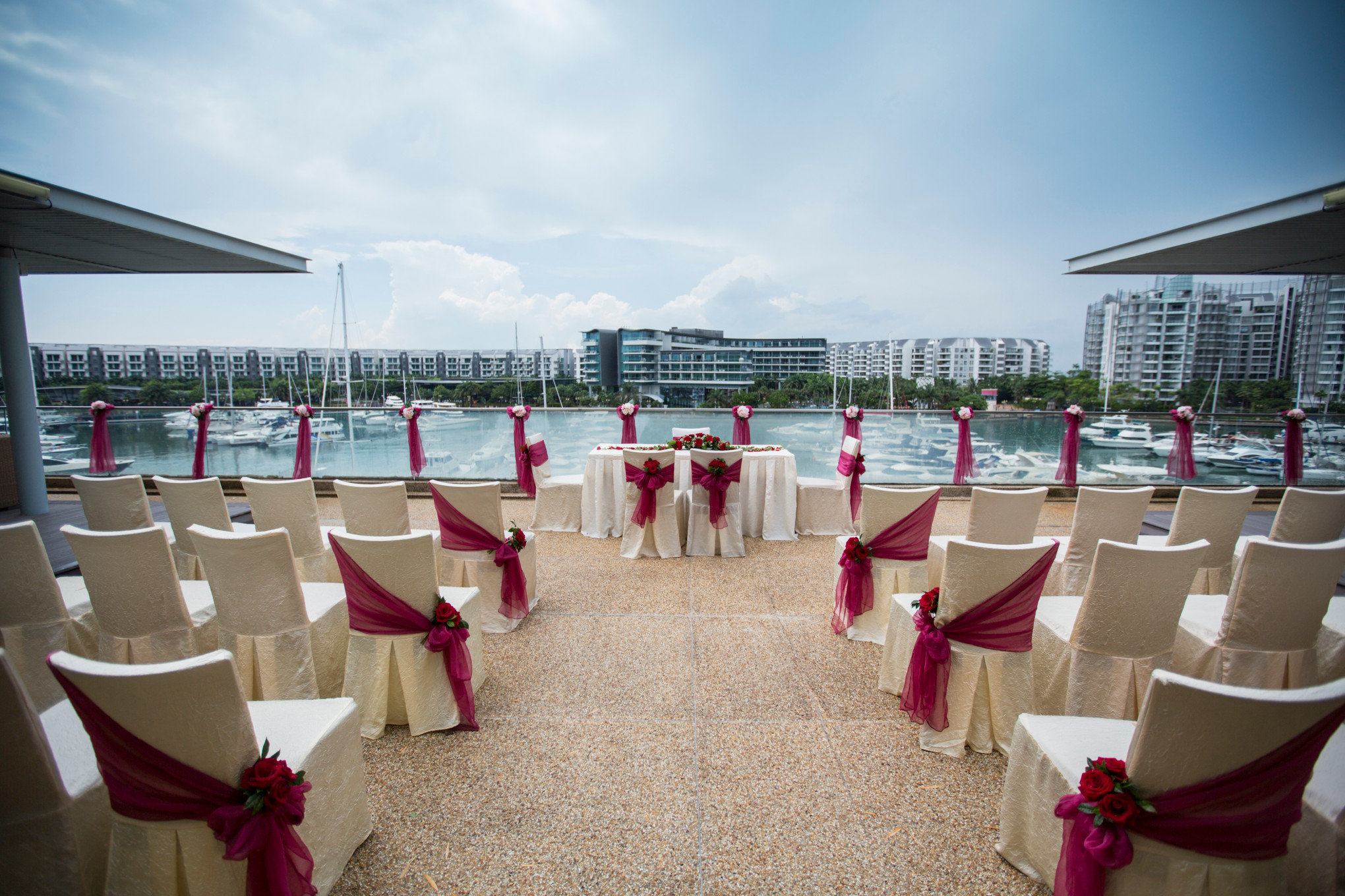 5 reasons to hold your wedding at ONE°15 Marina Sentosa Cove