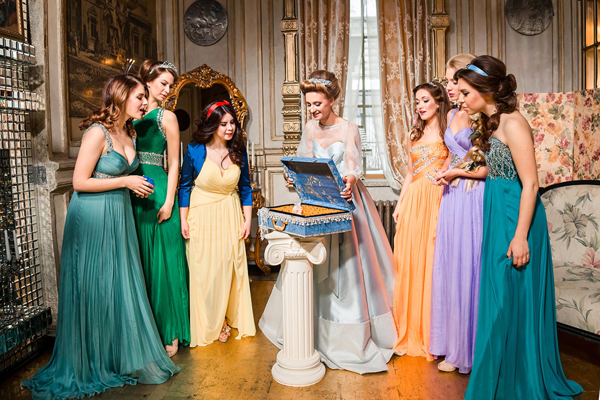 One Couple S Enchanting Disney Inspired Wedding Bridestory Blog