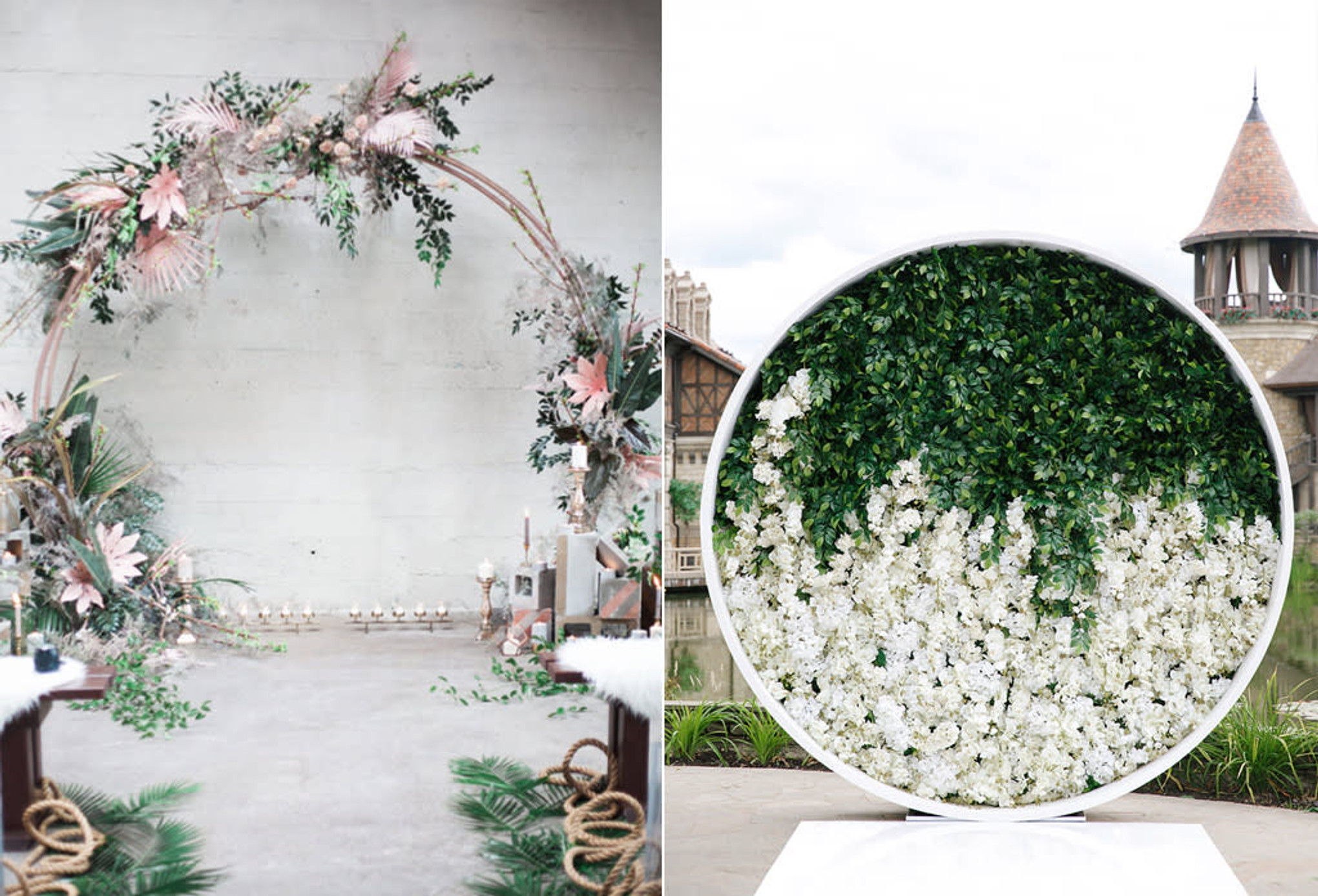 10 Wedding Arch Inspirations For A Momentous Ceremony Bridestory