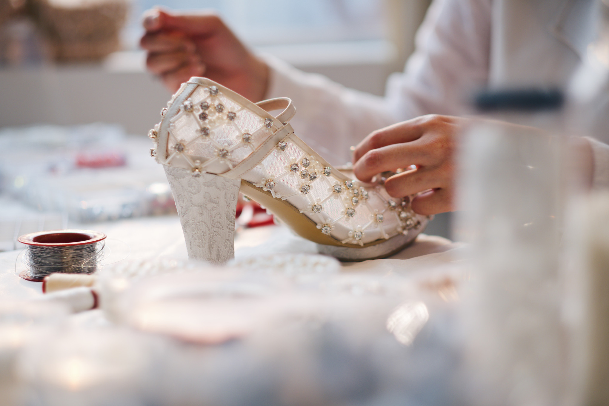 Step Comfortably Into Your New Life With Regis Bridal Shoes