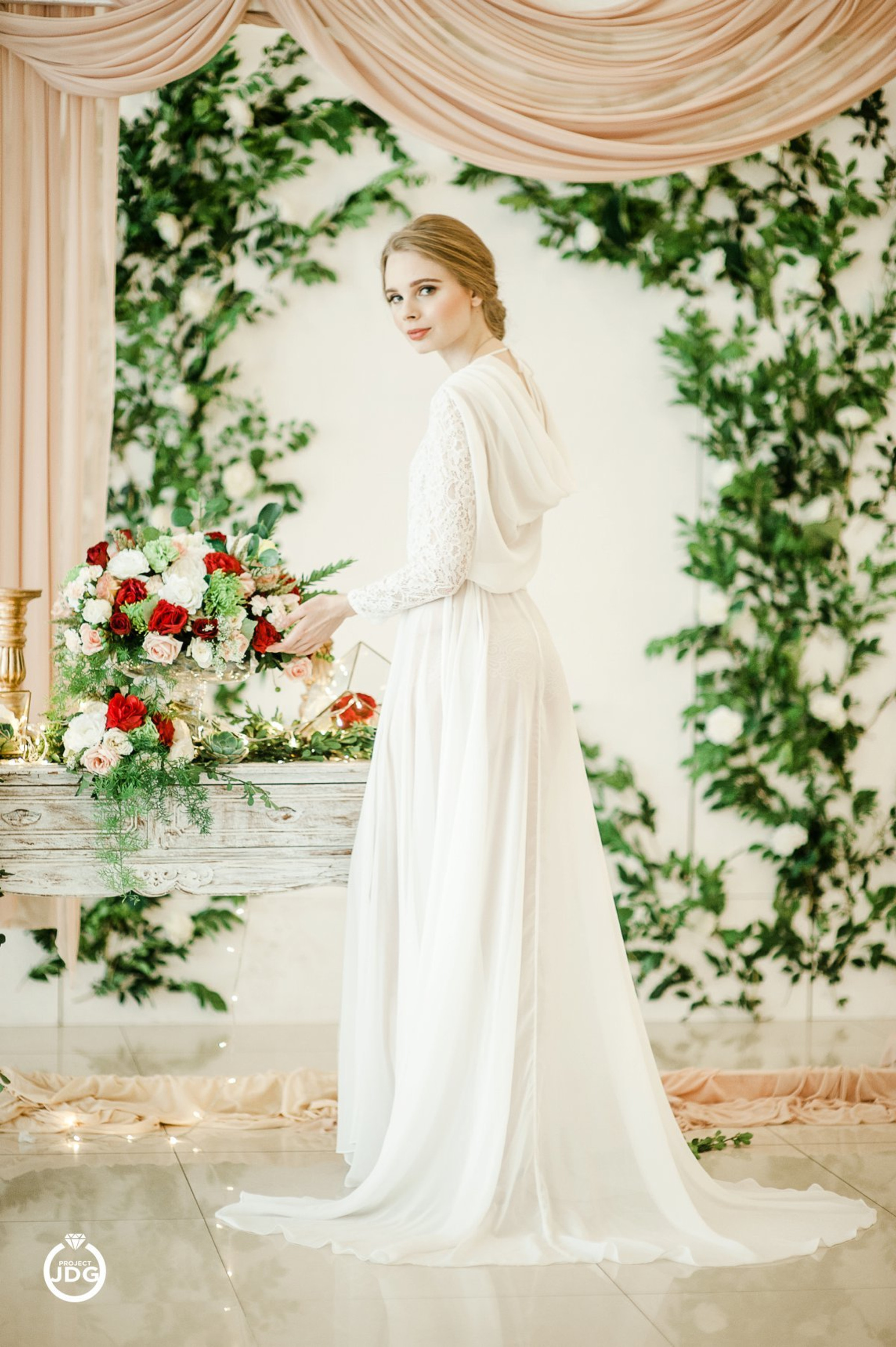 A Dreamy Bridal Boudoir Session Inspiration - Bridestory Blog