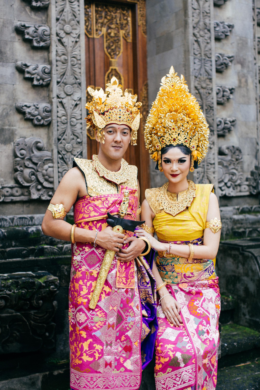 Pakaian Adat Bali Nikah - Baju Adat Tradisional