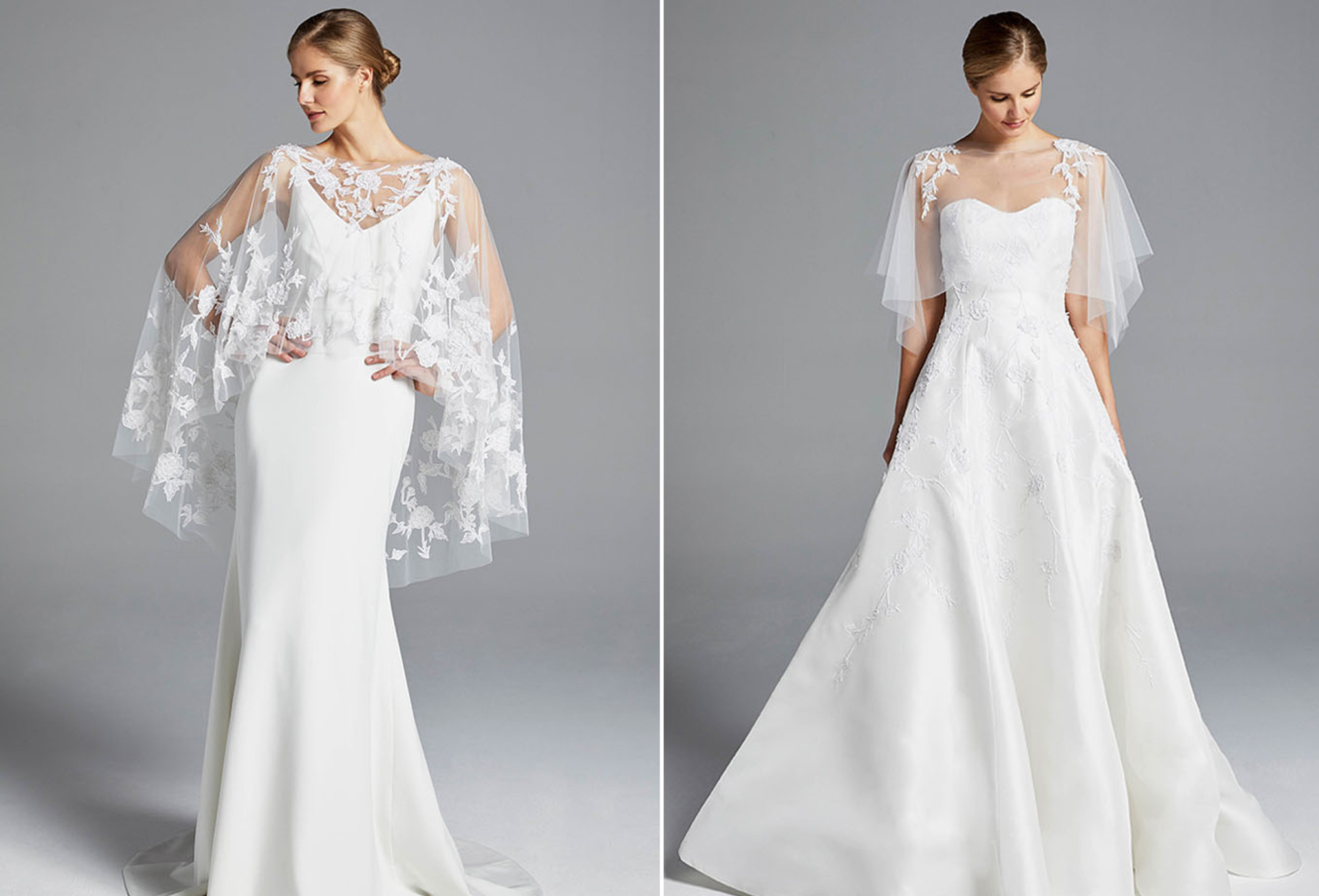 The Latest Wedding Dress Trends From Spring 2019 Bridal Fashion