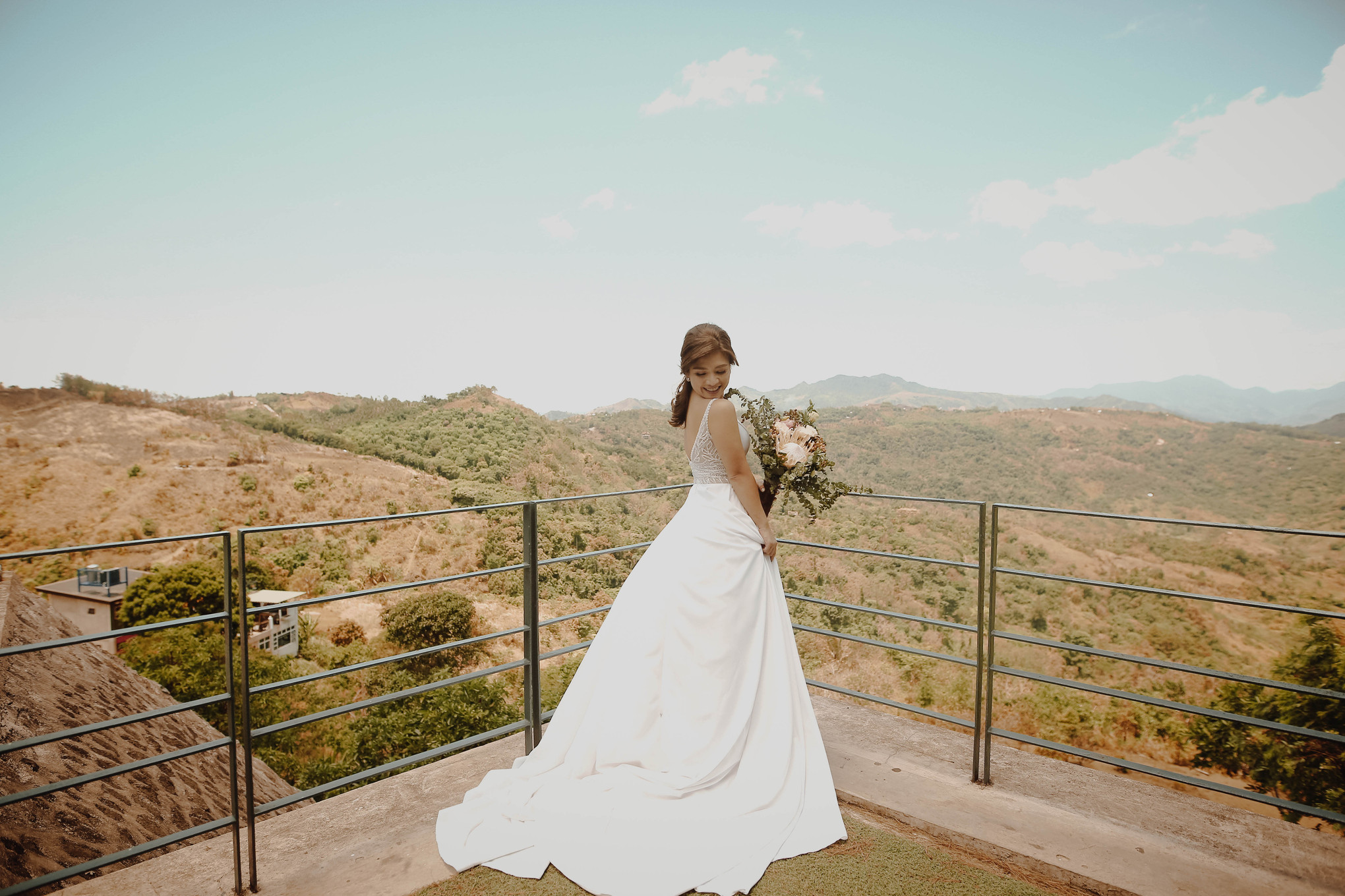 A Charming Mountain Countryside Wedding On A Budget