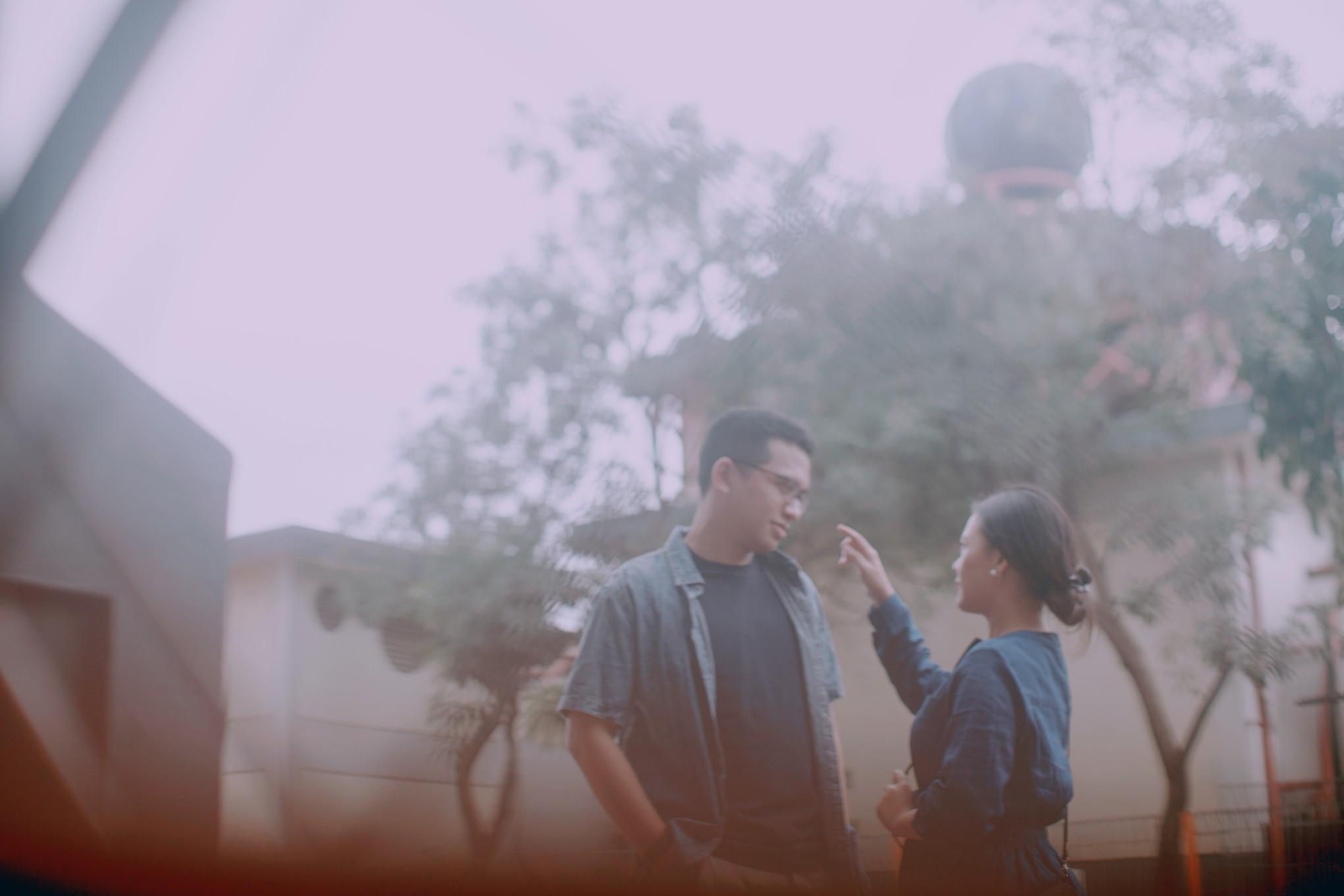 A Casual Pre-wedding Date a la Romantic Comedy Movies