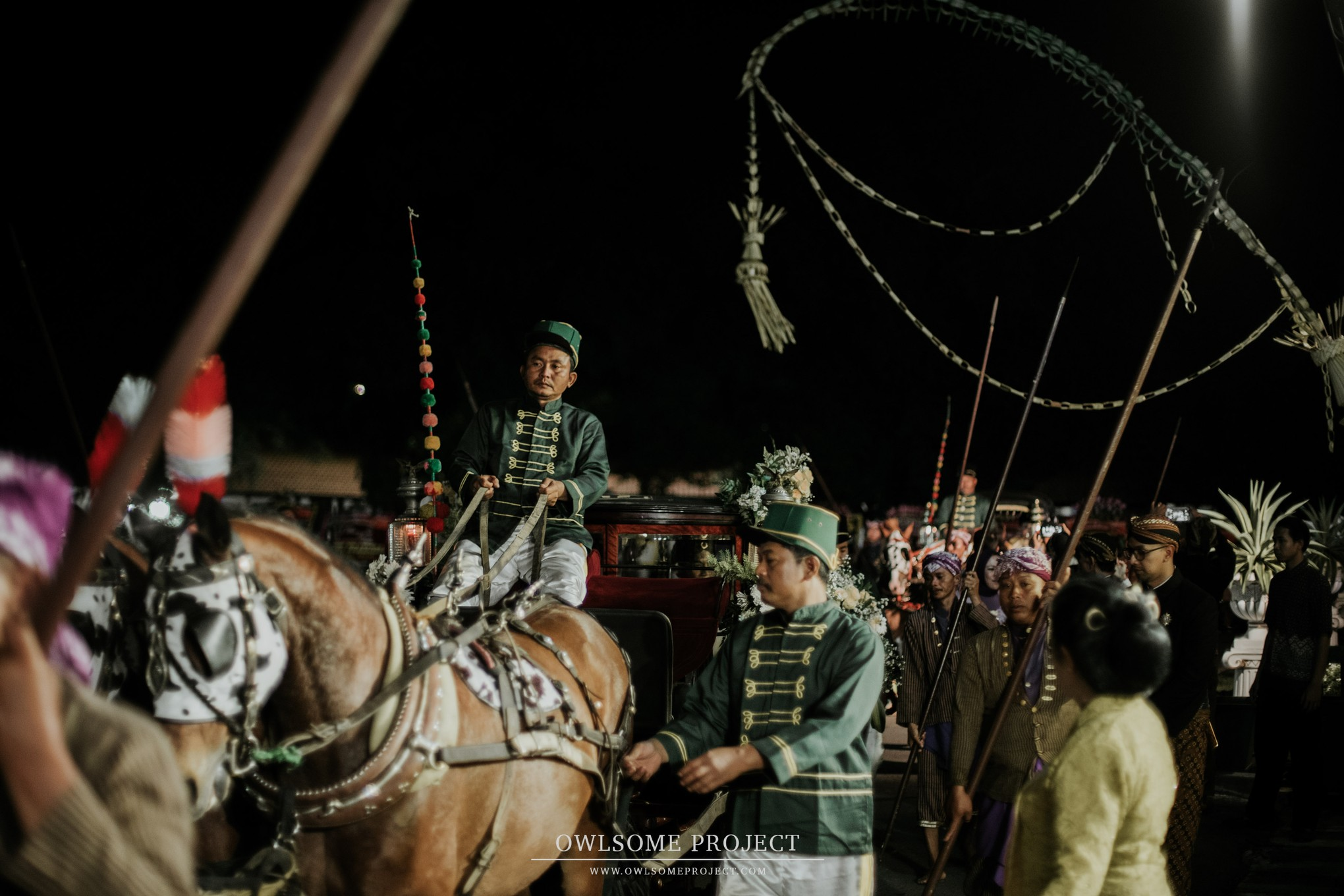 Beautiful Album of a Sacred Royal Mangkunegara Wedding