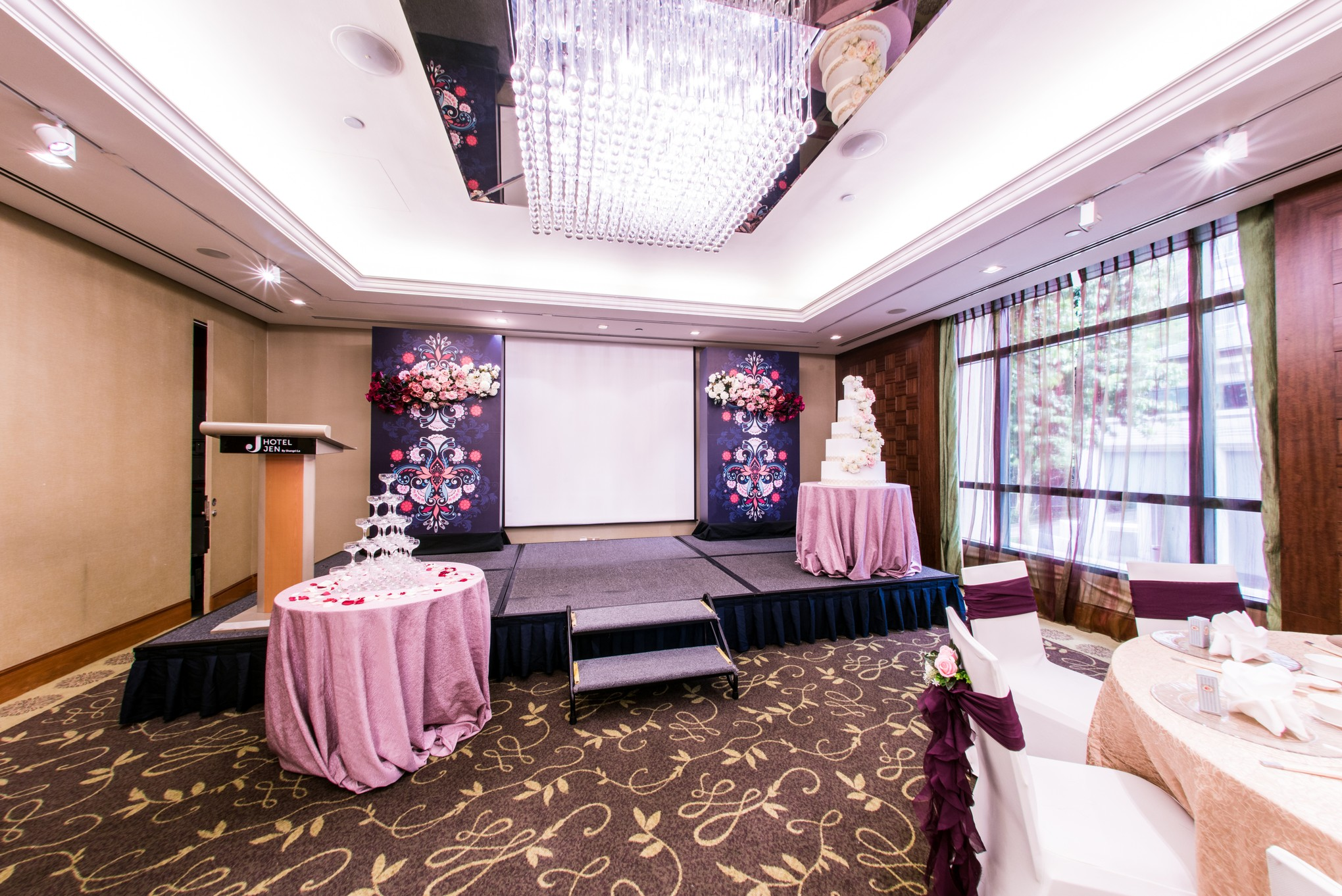 6 Reasons to Have Your Wedding at Hotel Jen Tanglin