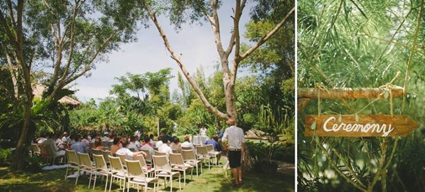 Garden Meets Beach in an Intimate Wedding at Bohol, the ...