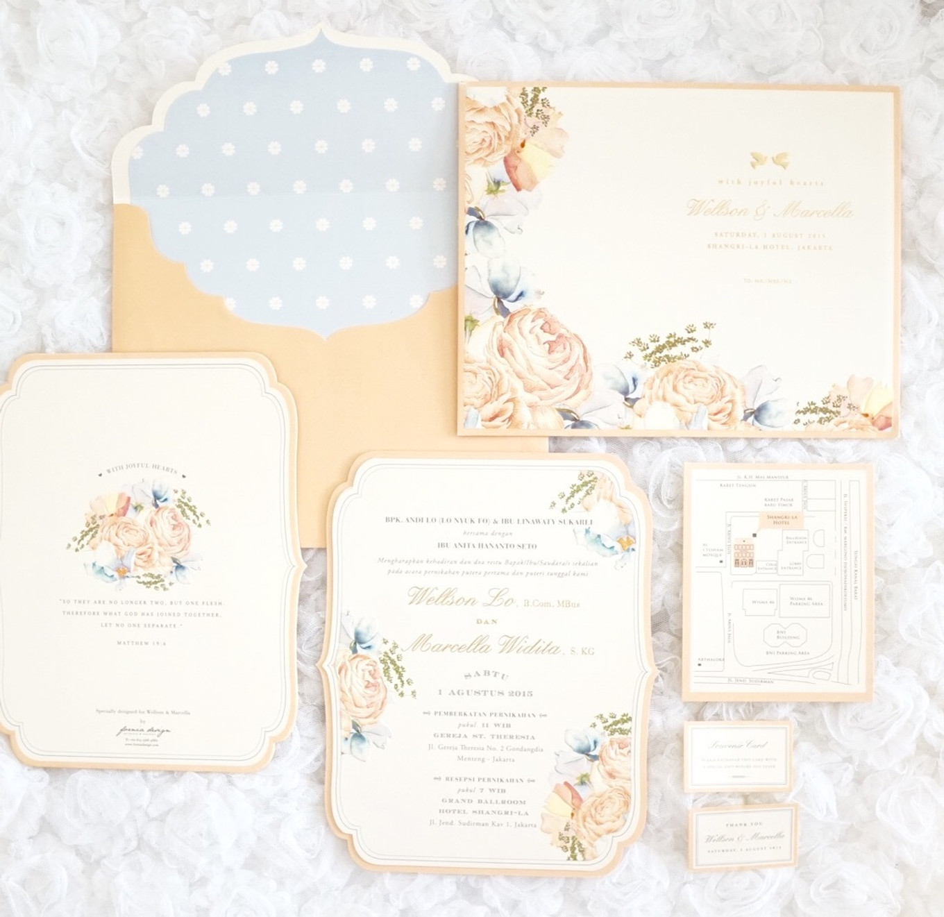 Vendor Of The Week: Fornia Design Invitation