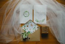 Wedding of Suzy & Fergus by Rosette Designs & Co
