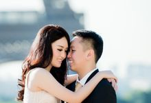 The Sweetest Summer in Paris - Sulli & Verencia European Prewedding by Kairos Works