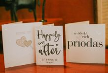 Romantic beach front wedding of Allan & Emma by Ario Narendro Photoworks