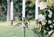 Botanical Sunset Wedding by Cotton and Sage