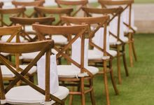 New Crossback Chairs by DIJON BALI CATERING
