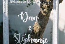 Dan & Stephanie @ Pandawa Cliff Estate by Bali Dream Day