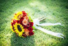 Bali Colorful Rustic Wedding by Bali Izatta Wedding Planner & Wedding Florist Decorator
