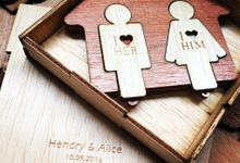 Hendry and Alice by WooDesign.id