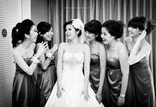 Bride Groom Bridesmaids and Bestmen by Momentochronos